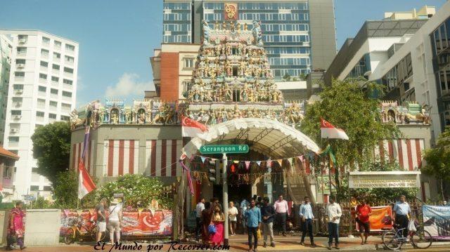 templo little india singapur