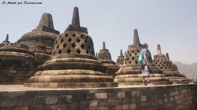 Borobudur Yogyakarta templo campanas