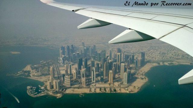Doha Qatar districto diplomatic avion