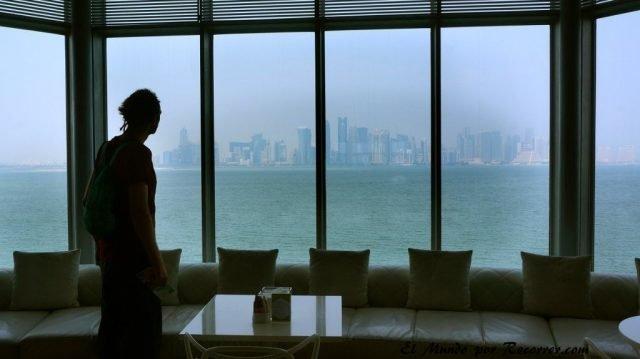 Doha Qatar skyline mia islamico museo