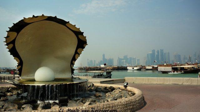 Doha Qatar the pearl la perla