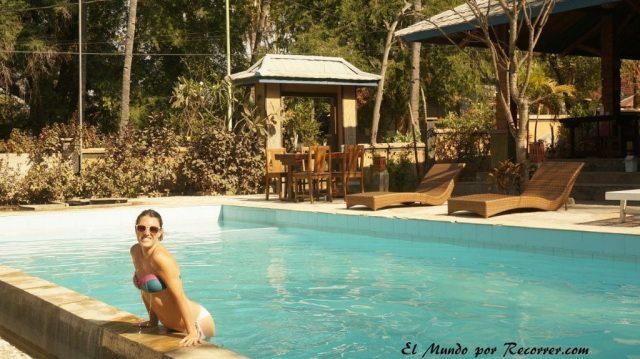 Gili air piscina gilinti villa