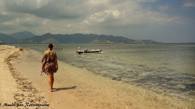 Gili air playas