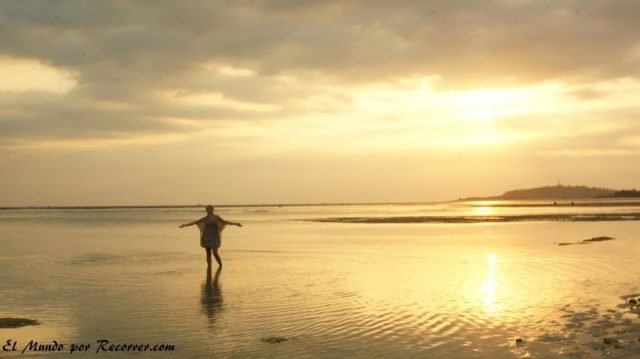 Gili air sunset playa