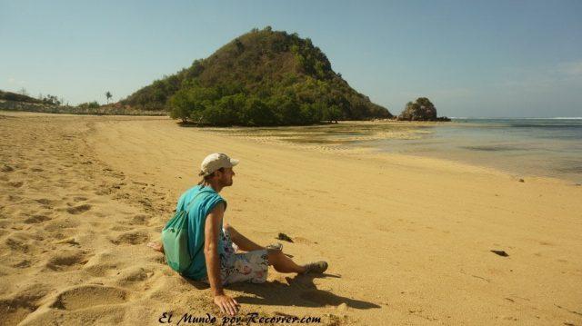 Kuta Lombok indonesia playa mandalika