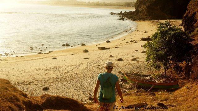 Kuta Lombok indonesia ruta trekking playas