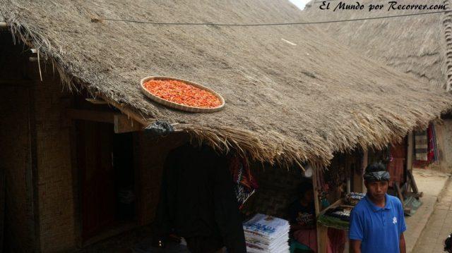 Kuta Lombok indonesia sasak village sade