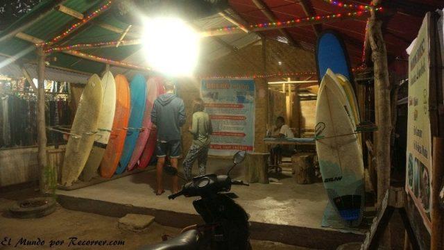 Kuta Lombok indonesia tienda de surf