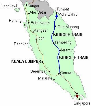 Map Jungle Train Ben