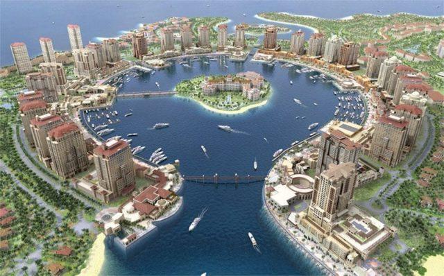 Pearl Island  Towers Qatar