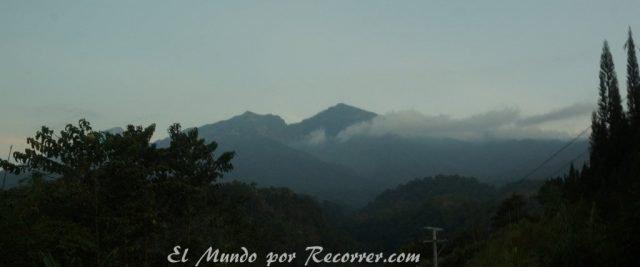 Senaru rinjani volcan