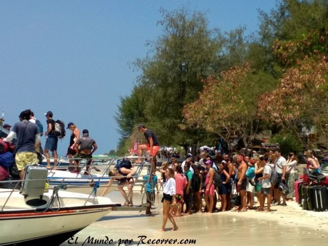 como llegar fast boat gili tranwangan islas gili