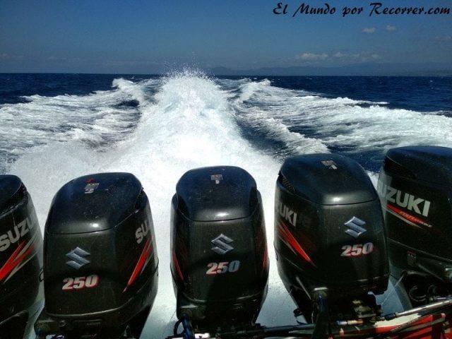 motores fast boats potencia