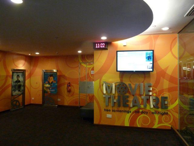 movie theatre changi airport singapur