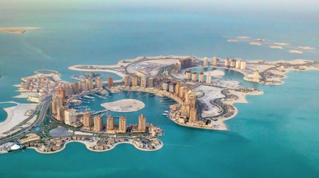qatar the pearl isla artificial