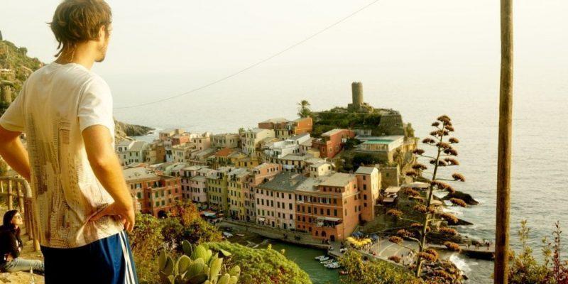 Cinque Terre Italia Vernaza