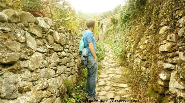 Cinque Terre Italia santuario