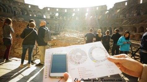 Coliseo audio guia roma