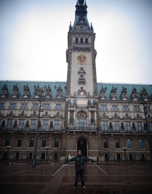 Hamburg alemania rathaus