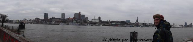 Hamburg alemania rio elba puerto