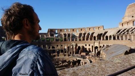 Viaje a Roma Italia Coliseo