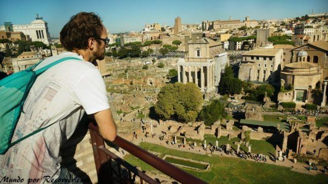 Viaje a Roma Italia Foro romano y palatino