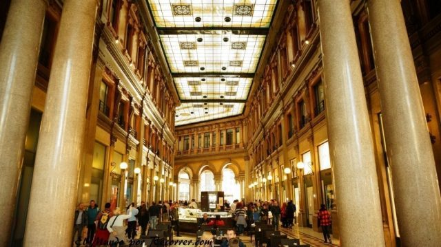 Viaje a Roma Italia Galeria Alberto Sordi