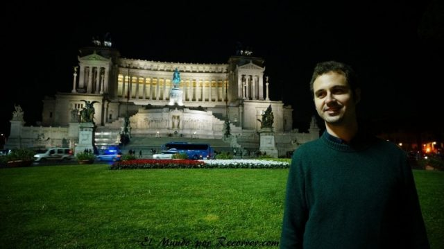 Viaje a Roma Italia Plaza Venecia