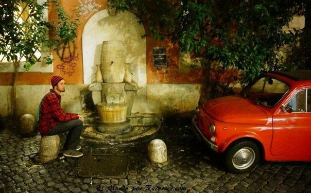 Viaje a Roma Italia Trastevere