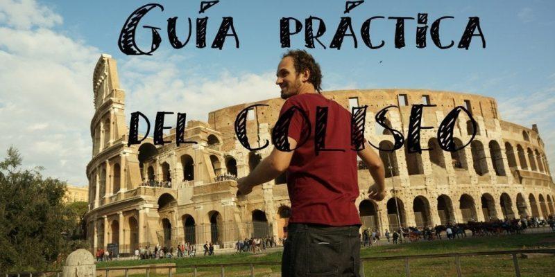Viaje a Roma Italia guia coliseo