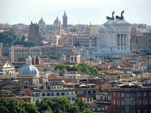 roma Gianicolo colina