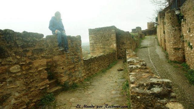 Ronda muralla ciudad