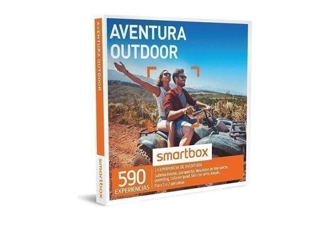 caja regalo aventura viajeros