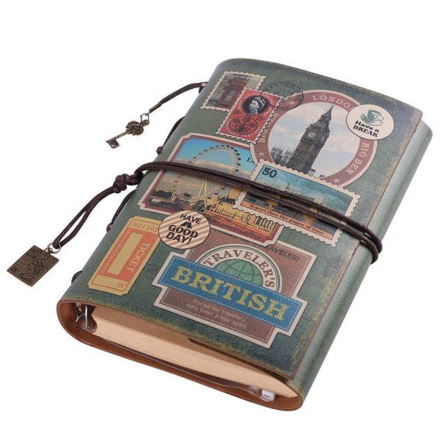 diario de viaje regalos viajeros
