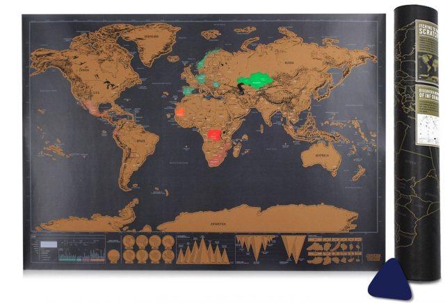 mapa rascar viajeros regalos