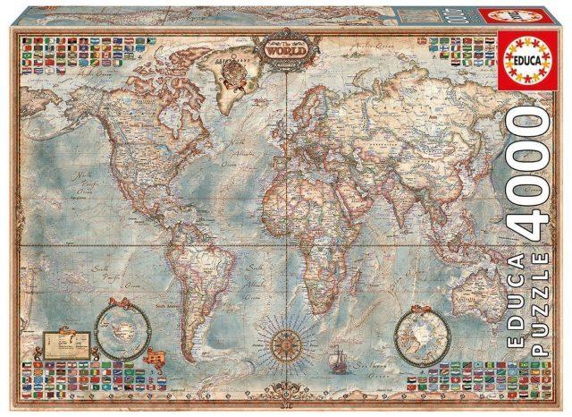 puzzle mundo regalar viajes