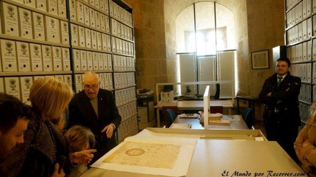Archivo catedral murcia manuscrito region