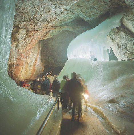 Eisriesenwelt austria cuevas de hielo