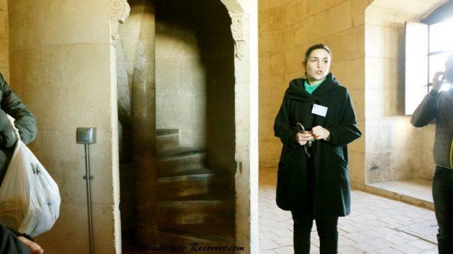 entrada escaleras caracol campanario torre catedral murcia
