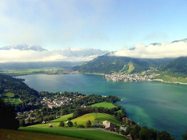 lago zell am see austria