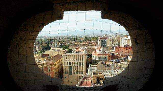 vistas catedral murcia ventana