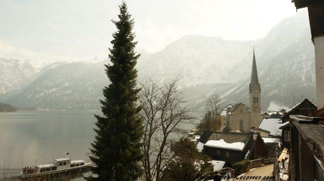Hallstatt iglesia Austria