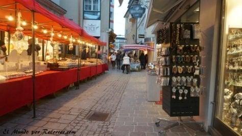 Zell am See mercadillo en Austria