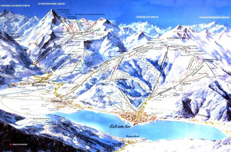 zell am see trail map