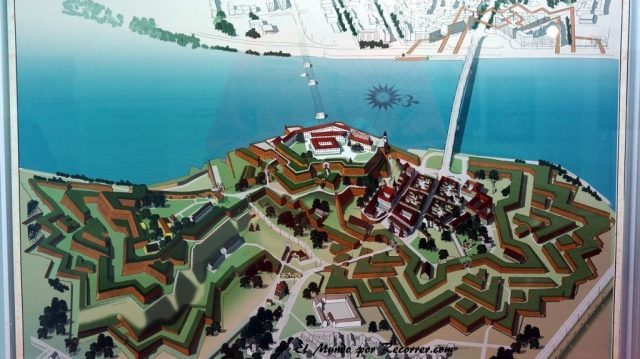 Fortaleza novi sad serbia dibujo