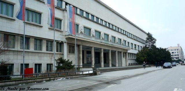 Novi sad en serbia ministerio
