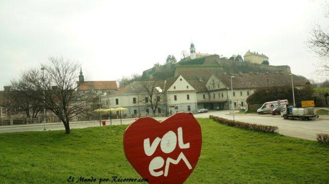 Novi sad en serbia vistas de la fortaleza