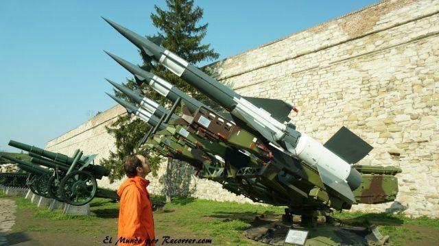 baterias antiaereas en belgrado serbia
