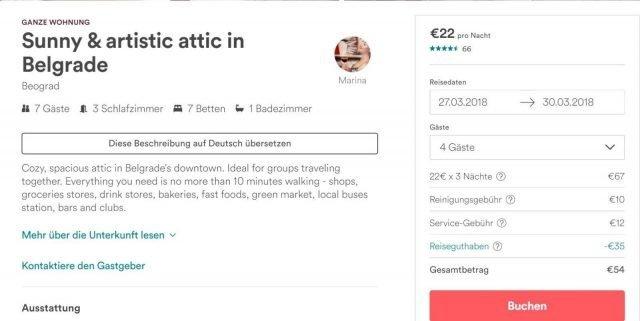 belgrado airbnb barato alojamiento