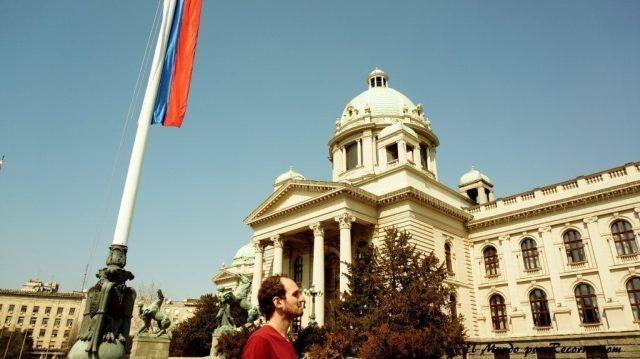 parlamento de serbia en belgrado